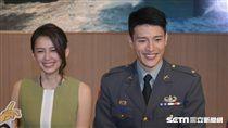 國軍形象連續劇「最好的選擇」選角公布記者會,男一陳禕倫 圖/記者林敬旻攝