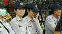 「警界林志玲」羅惠君_翻攝畫面