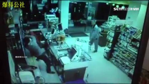 醉男超商內抽菸遭趕 怒毆店員又推警