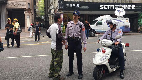 反年改抗議,濟南路 圖/記者陳彥宇攝影