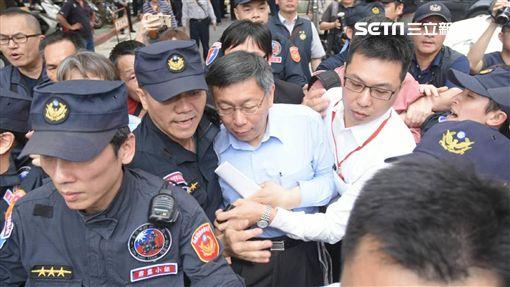 柯文哲,前瞻計畫公聽會 圖/記者林敬旻攝影