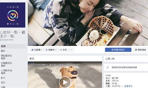 圖翻攝自臉書 楊又穎 CINDY