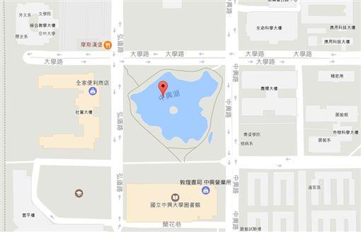 中興湖 圖/翻攝Google Map