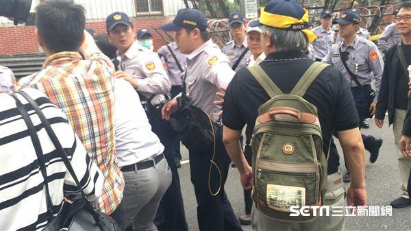 年金改革、抗議(圖/記者陳彥宇攝)