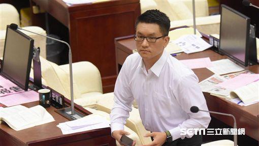 台北市議員童仲彥 圖/記者林敬旻攝