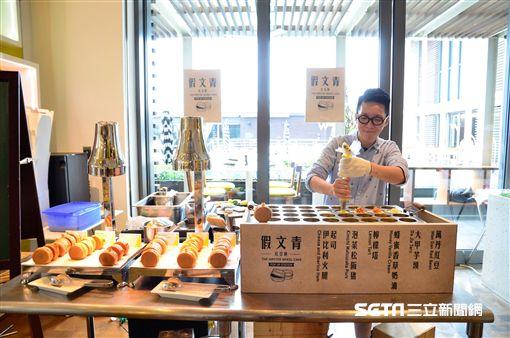 假文青紅豆餅,the kitchen table,W飯店。(圖/台北W飯店提供)