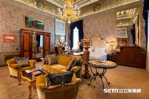 雲朗集團威尼斯雲水之都(Palazzo Venart Luxury Hotel),獲Conde Nast Traveler 評為「2017年全球最佳新進酒店」。(圖/雲朗集團提供)