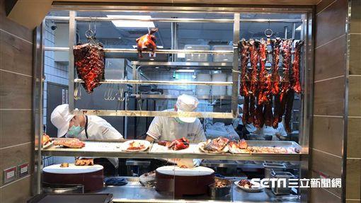米其林一星美食,了凡香港油雞飯麵,和億生活。(圖/記者簡佑庭攝)