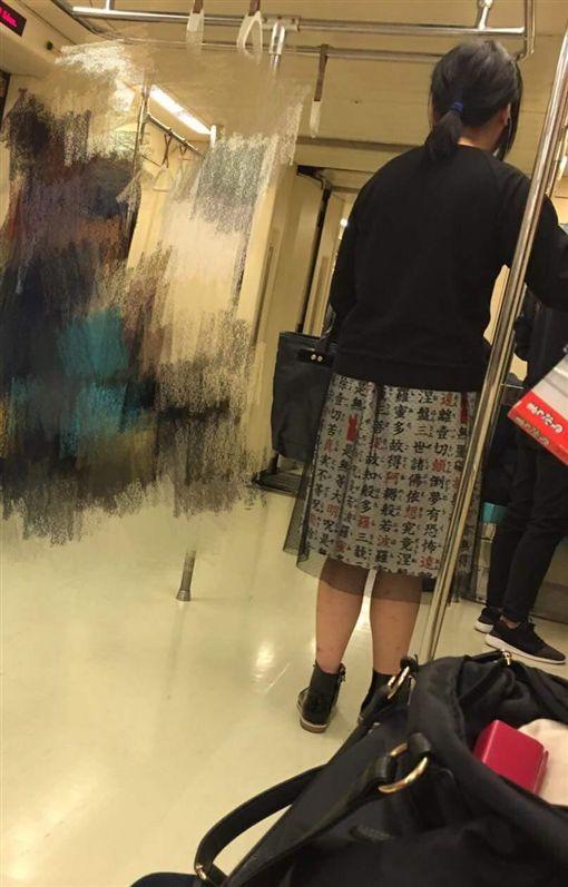 少女,短裙(圖/翻攝自爆料公社)