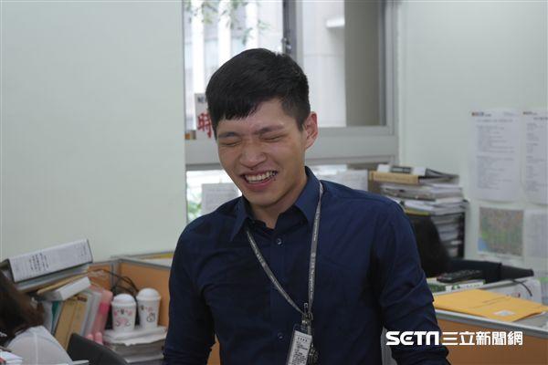 時代力量法案助理陳韋廷 圖/記者林敬旻攝