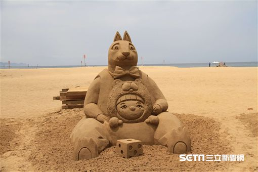 福隆國際沙雕藝術季,沙雕比賽。(圖/觀光局提供)
