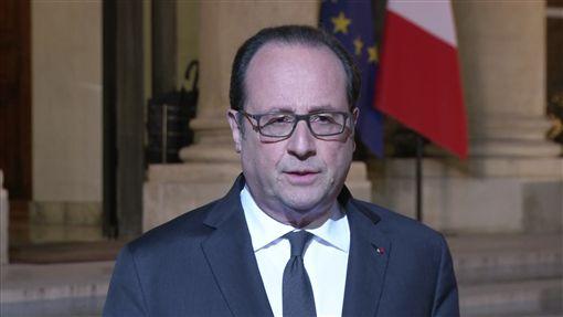 歐蘭德,Francois Hollande,法國,總統(圖/美聯社/達志影像)