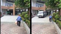 ▲圖/翻攝自黃嫈珺臉書 拾荒翁
