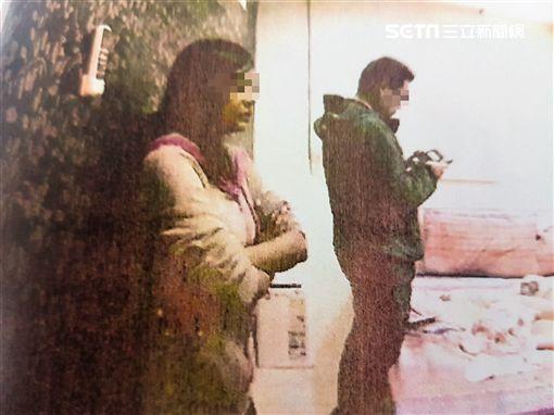 泰籍女大生羅塔與學姊布依以觀光名義來台賣淫,警方循線逮獲兩人,訊後依社維法裁罰(翻攝畫面)