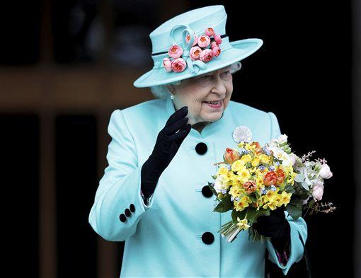Queen Elizabeth II,伊麗莎白二世,英國,女王,生日圖/美聯社/達志影像