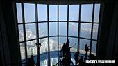 韓國第一高樓,樂天世界塔,Seoul Sky,景觀台。(圖/記者簡佑庭攝)'