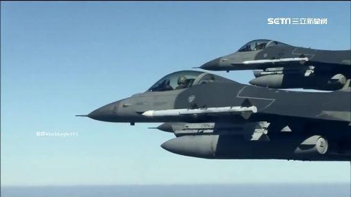 有夠牛! 漢光實兵傳F16射擊新款飛彈 ID-886576