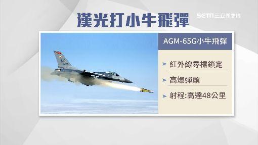 有夠牛! 漢光實兵傳F16射擊新款飛彈 ID-886578