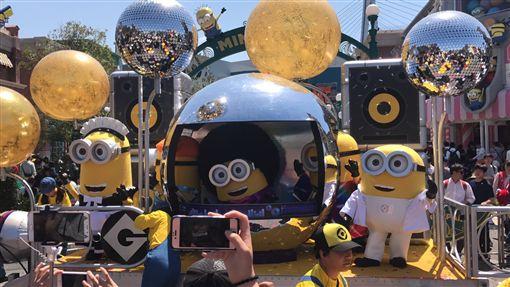 日本環球影城小小兵園區開幕