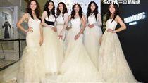 名模王心恬率凱渥模特兒群演繹最新時尚新裝與婚紗系列