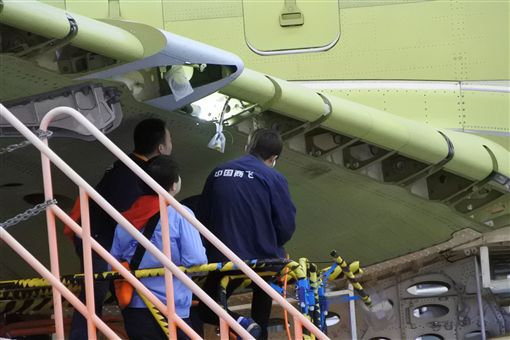 陸產大型客機C919客機首飛 90分鐘測試中央社 ID-897805