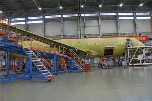 陸產大型客機C919客機首飛 90分鐘測試中央社 ID-897806