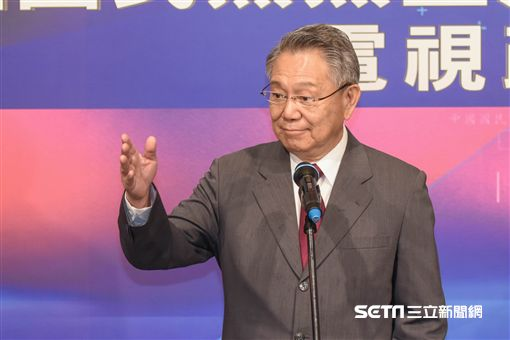 中國國民黨黨主席政見發表會,詹啟賢 圖/記者林敬旻攝