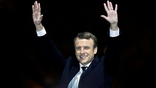 馬克宏,Emmanuel Macron(圖/路透社/達志影像)