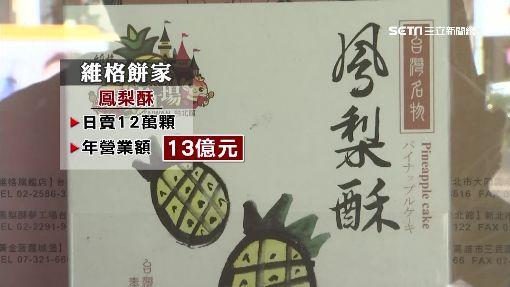 淡水發跡竄紅 1年賣1300萬顆鳳梨酥