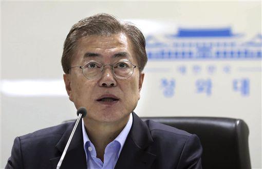 南韓總統文在寅_美聯社/達志影像