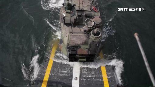 這台戰車在海裡跑...AAV7裝艦大挑戰 ID-907714