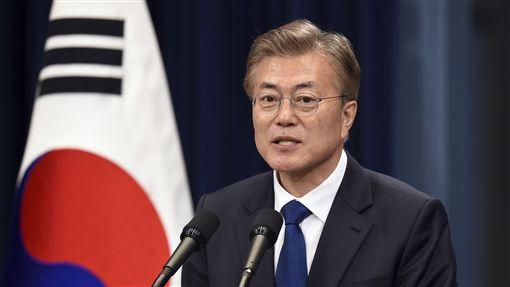 文在寅,Moon Jae-in,南韓,總統圖/美聯社/達志影像