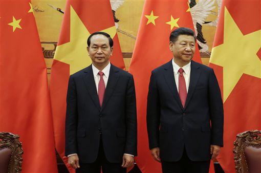 陳大光,越南,主席,中國大陸,習近平,一帶一路高峰會圖/美聯社/達志影像