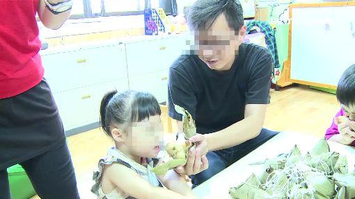 為腦瘤女祈福 父慨捐家扶中心680顆粽子