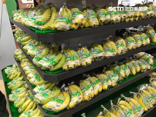 全聯,香蕉季,香蕉,蛋糕。(圖/記者馮珮汶攝)