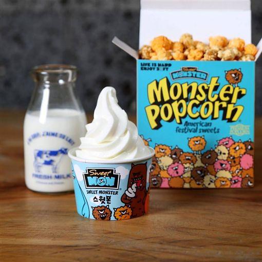 南韓超人氣「怪獸冰淇淋」Sweet Monster(圖/翻攝自Sweet Monster臉書)