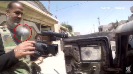 GoPro還能這樣用! 擋子彈救戰地記者一命