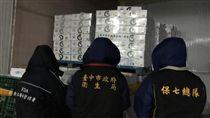 台中衛生局查獲過期鮑魚/台中市政府