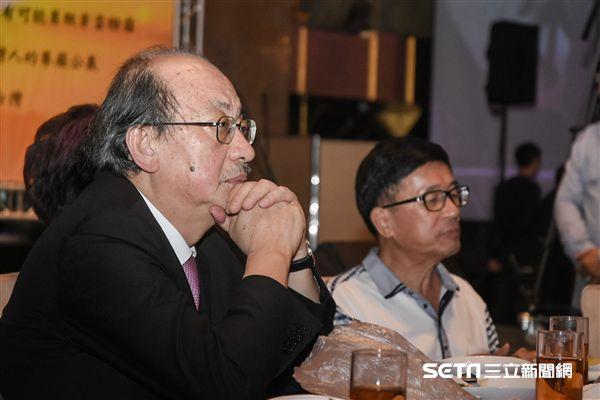 凱達格蘭基金會募款餐會,柯建銘 圖/記者林敬旻攝