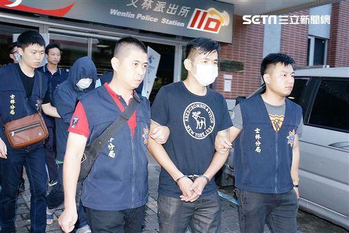 綽號「亞綸」的劉男為了重拾「空保」的地盤,打算販售毒品與槍枝來籌措經費,卻遭警方先一步逮獲(翻攝畫面)
