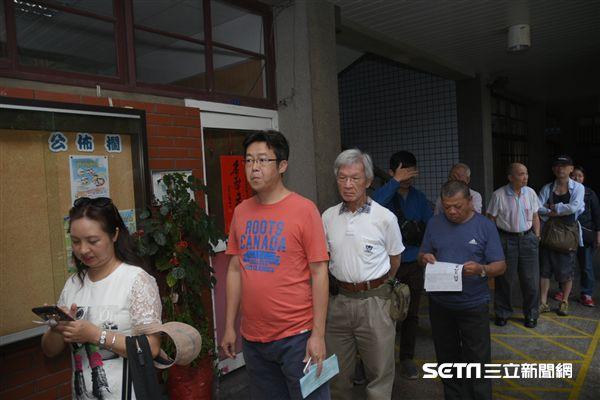 中國國民黨黨主席選舉 圖/記者林敬旻攝
