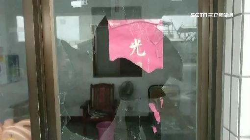 包圍加油站砸窗討債 老闆娘霸氣巴掌反制