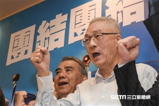 國民黨新任主席吳敦義 圖/記者林敬旻攝