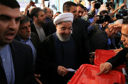 羅哈尼(Hassan Rouhani)_路透社/達志影像