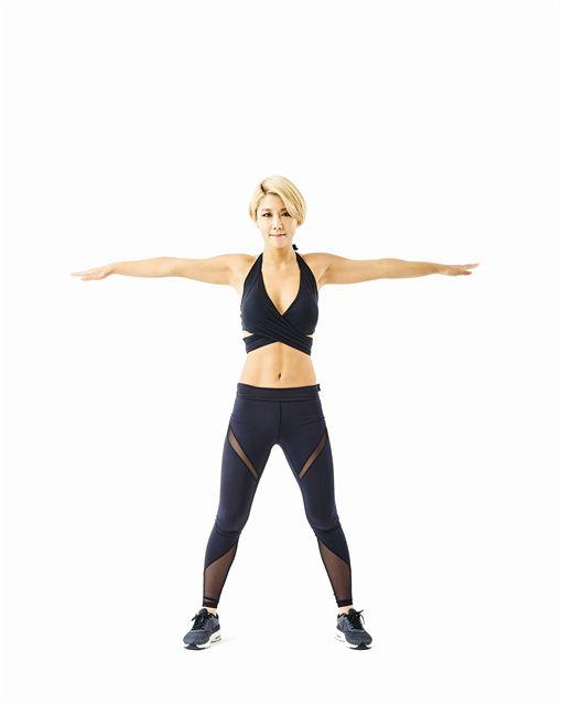 Miss金,金皗原,瘦身,運動,腹部,腹肌,馬甲線,川字肌,塑身,健美,瘦身操,瘦身女王,減重,減肥