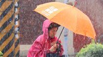 對流,大雨特報,下雨,降雨 圖/中央社
