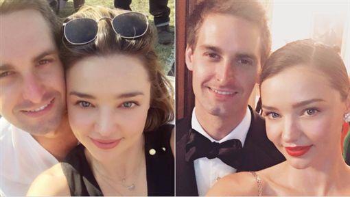 米蘭達可兒,Miranda Kerr,Snapchat,執行長,伊凡史匹格,Evan Spiegel,結婚/臉書