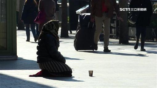 -巴黎-法國-遊民-乞丐-