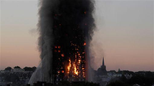 倫敦大火,圖/路透社/達志影像