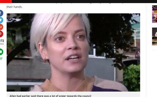 女星赴倫敦大火災區 痛批政府掩蓋真相「死亡人數少報」(圖/翻攝自Mirror online)
